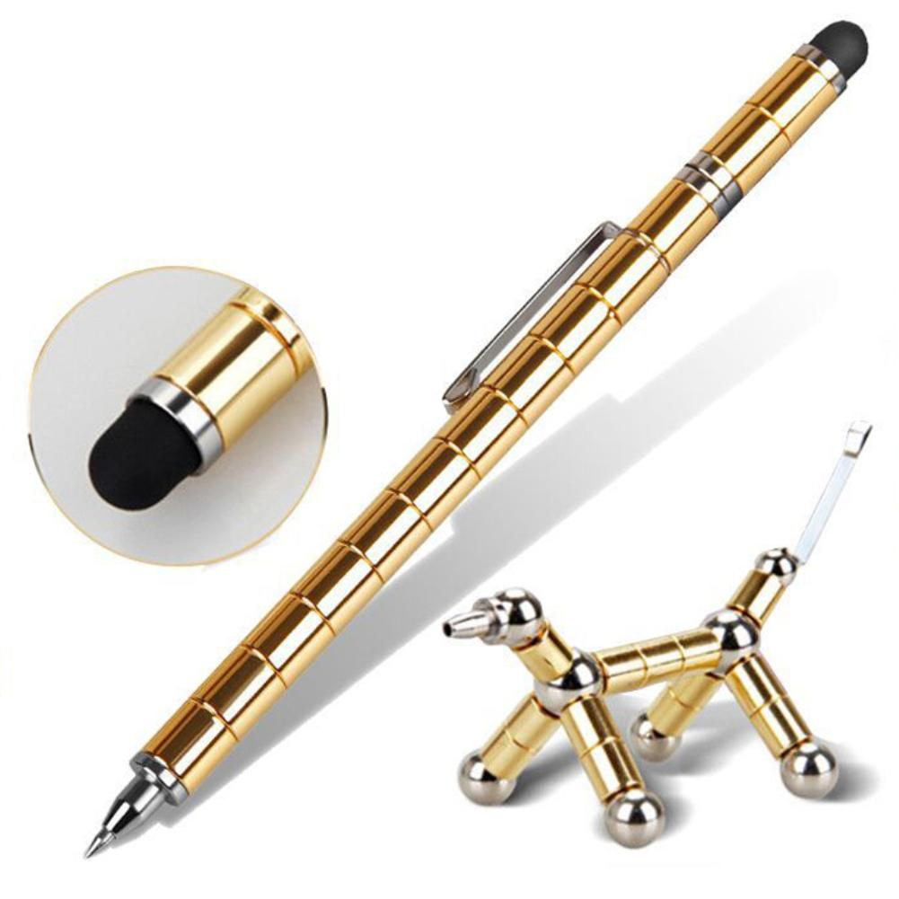 2018 Magnetic Polar Pen Metal Magnet Modular Think Ink Toy Stress Fidgets Antistress Focus Hands Touch Pen Valentines Gift2018 Magnetic Polar Pen Metal Magnet Modular Think Ink Toy Stress Fidgets Antistress Focus Hands Touch Pen Valentines Gift