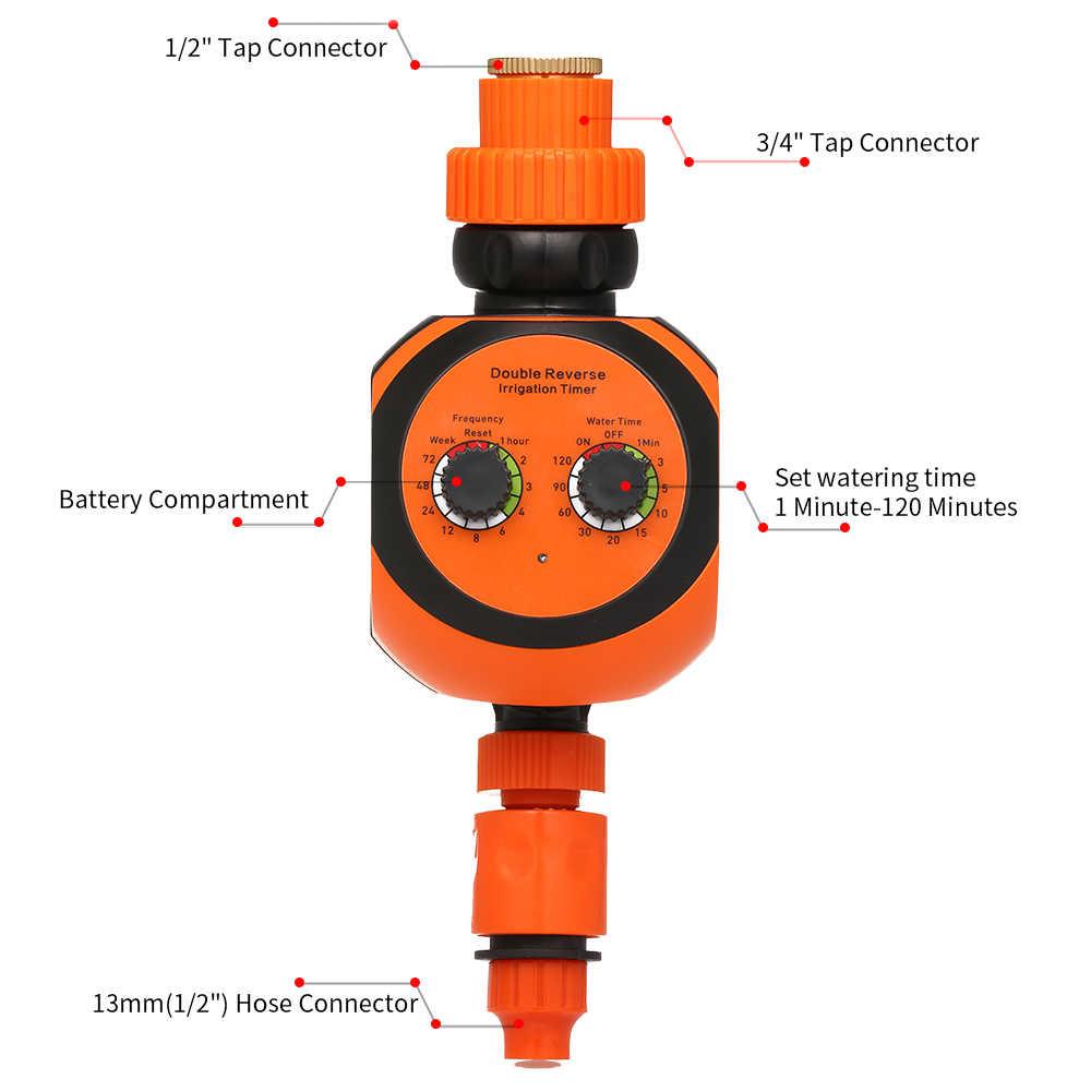 Выход программируемый шланг кран таймер беспроводной водопроводный 3/4 1/2 автоматический орошение сада цифровой Полив Таймер перезаряжаемый