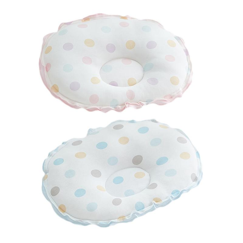 2018 Brand New Toddler Baby Infant Newborn Soft Sleep Positioner Support Pillow Prevent Flat Head Baby Polka Cloud Shape Pillow