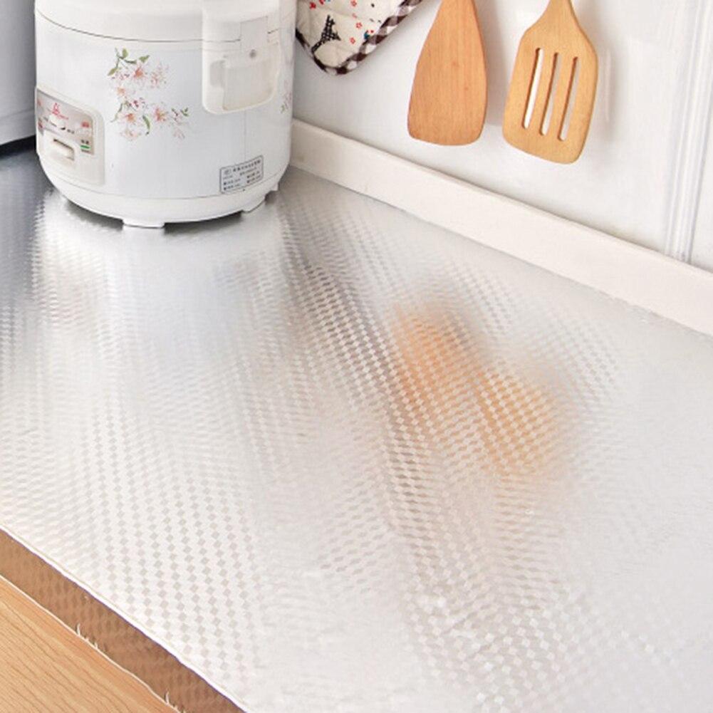 Aluminum Foil Self Adhesive Waterproof Wall Sticker Home Decor 40×100cm DIY