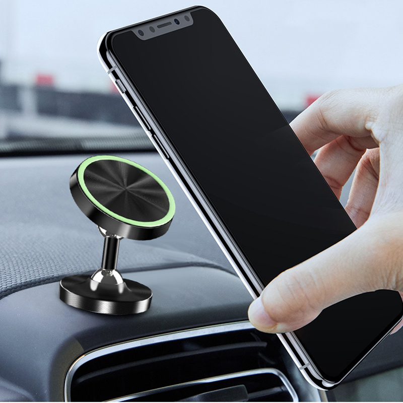 Universal Magnetic Phone Holder Car Mount Stand Stick On Car Dashboard For IPhone 6 7 8 Xiaomi Samsung Smartphone Magnet Support