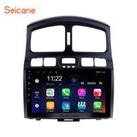 Seicane Android 8,1 9 Автомагнитола для 2005 2015 hyundai Classic Santa Fe Автомобильная gps навигационная система, стереомагнитола поддержка ТВ тюнер задняя камера