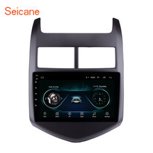 "Seicane Android 8.1 9"" Car GPS Multimedia Player For 2010 2011 2012 2013 Chevy Chevrolet AVEO navigation Stereo Support DVR SWC(China)"