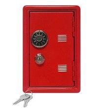 LBER Creative Piggy Bank Mini Atm Money Box Password Digital Coins Cash Deposit Children New Year Gift Saving Safe Box Security стоимость