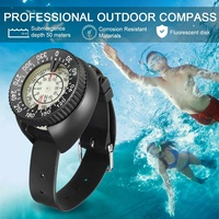 Diving Equipment Mini Wristwatch Compass Portable Waterproof Navigation Gauge Swimming Diving Water Sports Accessory