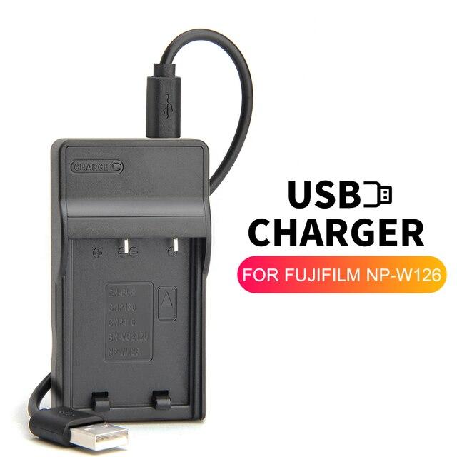 NP W126 NP W126 BC W126 USB BATTERIE Ladegerät für Fujifilm Fuji X A1 X A2 X T1 XT1 XA2 X E1 X E2 X M1 X Pro1 IR x T10 Kamera