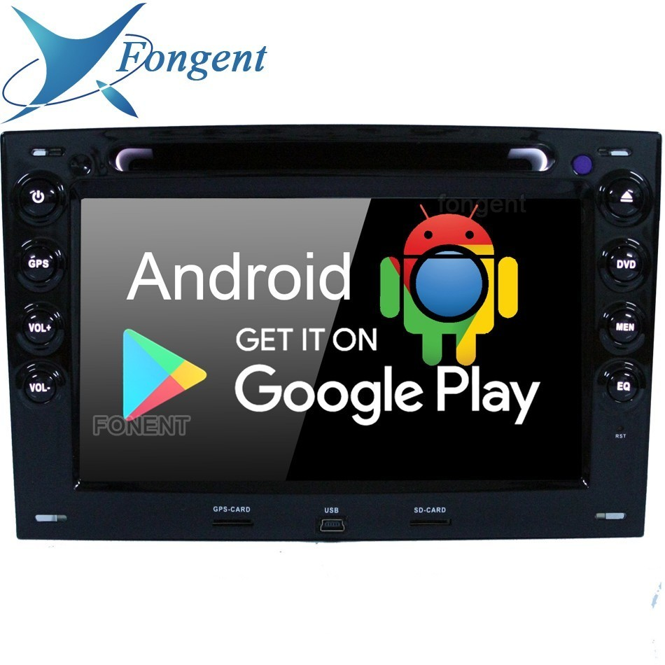 IPS Android 9 0 Unit Car DVD Radio Player for Renault Megane 2 ii 2003 2004