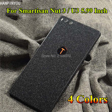 "For Smartisan Nut 3 Nut3 / U3 5.99"" Luxury Full Body Back Flash Point Matte Cover Film Protection Skin Decal Twinkle Sticker(China)"