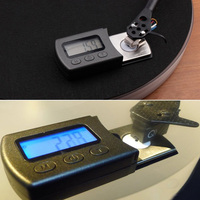 Balance Gauge Turntable Stylus Force Scale Calibration Weight Accurate Portable Vinyl Record Digital LCD Professional Jewelry wallet