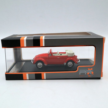 Premium X 1:43 SUPER BEETLE 1973 CONVERTIBLE RED PRD530 Diecast Models Car Limited Edition Collection
