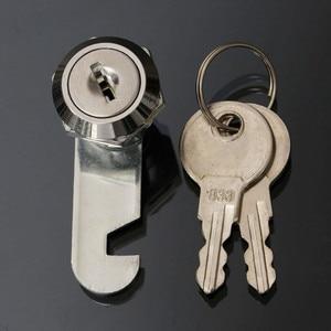 16/20/25/30 мм Сейф замок пинбол аркадная машина двери шкафа ящик инструментов и 2 ключа для хранения ящика шкафа