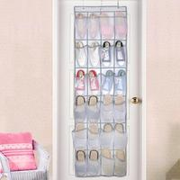 12 pairs of shoes Hanging Storage Bag Behind Doors Space Saving Easy to Carry for home storage|Hanging Organizers|Home & Garden -