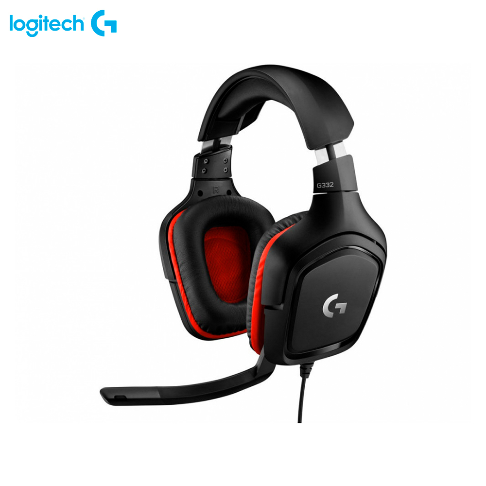 Earphones & Headphones Logitech G G332 981-000757 computer wired headset gaming FPS MOBA esports игровая гарнитура проводная logitech g332 черный 981 000757
