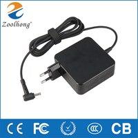 Para ASUS V 19V 3.42A 65W 4 0*1 35mm AC adaptador de corriente para portátil cargador de viaje para Asus Zenbook UX310UA UX305CA UX305C UX305UA UX305F|Adaptador para ordenador portátil| |  -