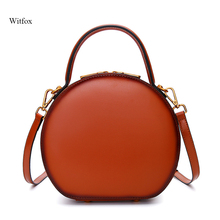 Elegant women messenger bags crossbody for genuine leather vintage retro fashion Rivet bag work/party