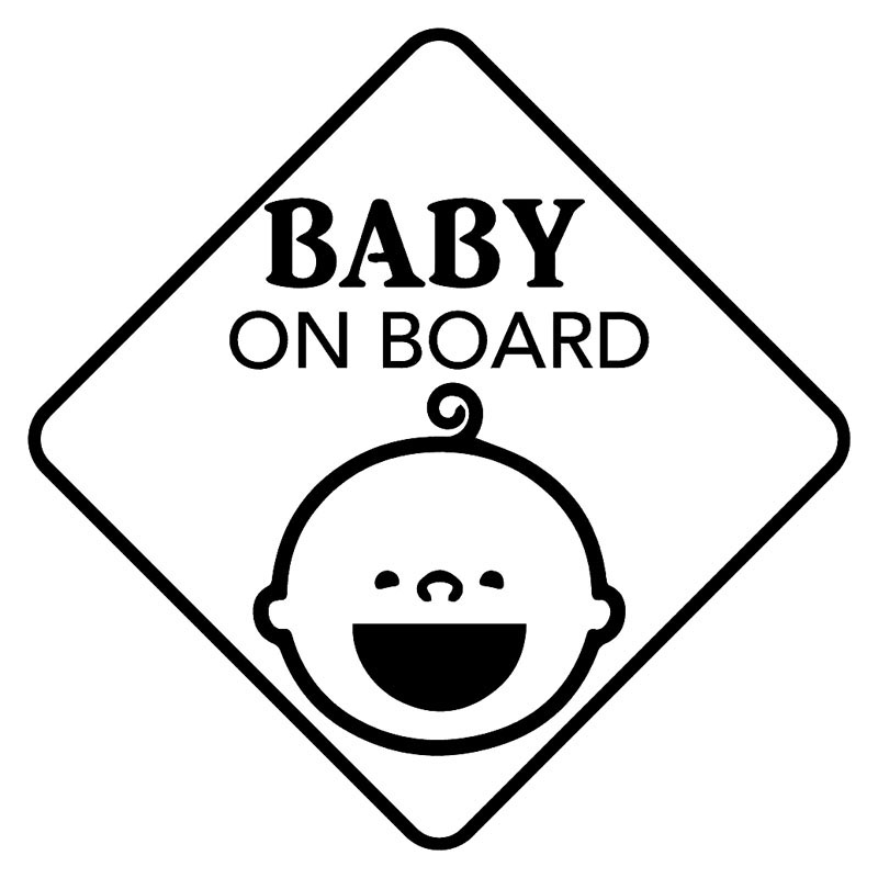 Babies Baby On Board decal car stickers FREE SHIPPING!!