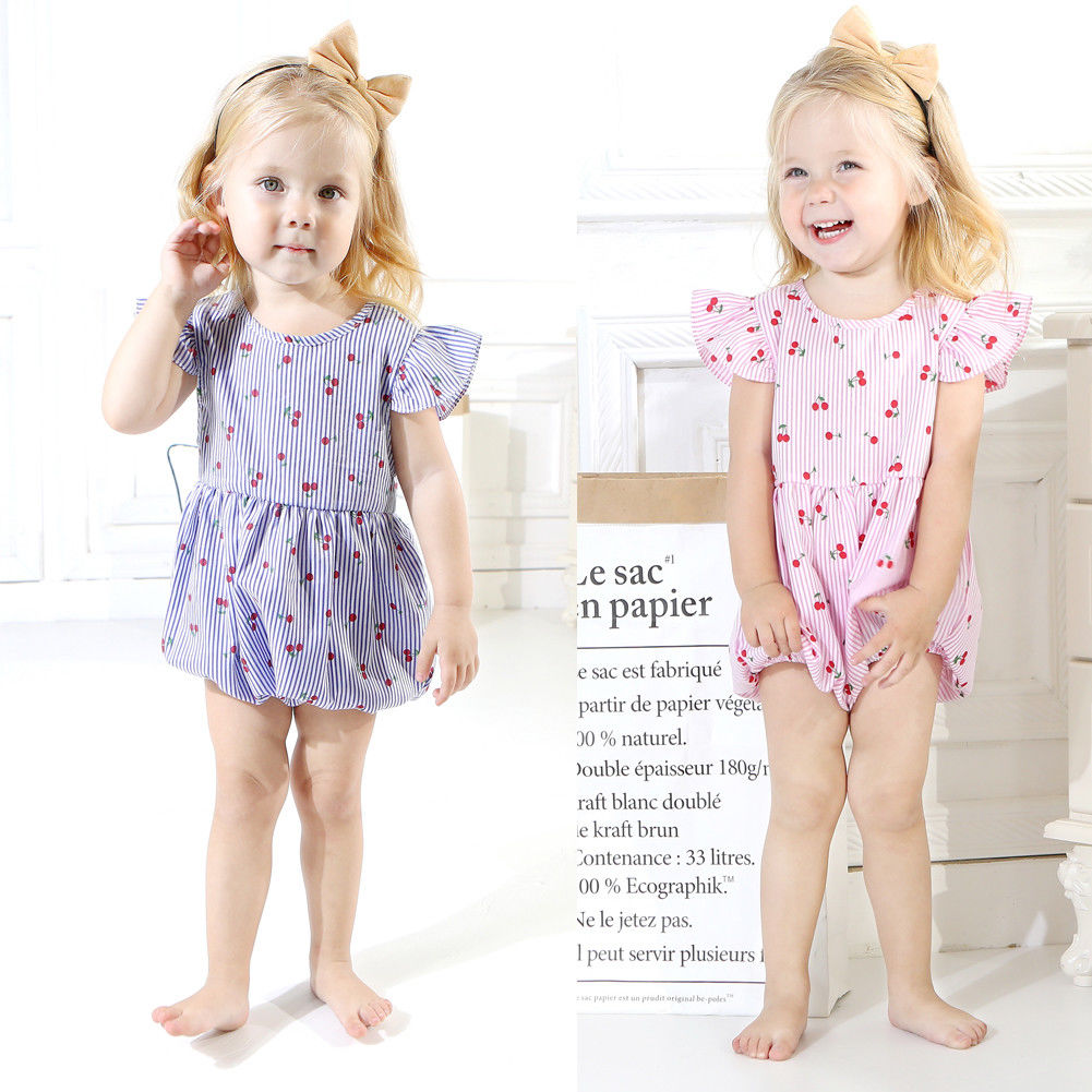 Pudcoco Girl Jumpsuits 0-18M Infant Toddler Newborn Baby Kid Girls Romper Sunsuit Outfits Sets