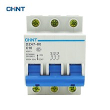 цена на CHNT Miniature Circuit Breaker DZ47-60 C16 AC230/400V 16A High Quality Rated Current 3 Pole Household Air Switch Free Shipping