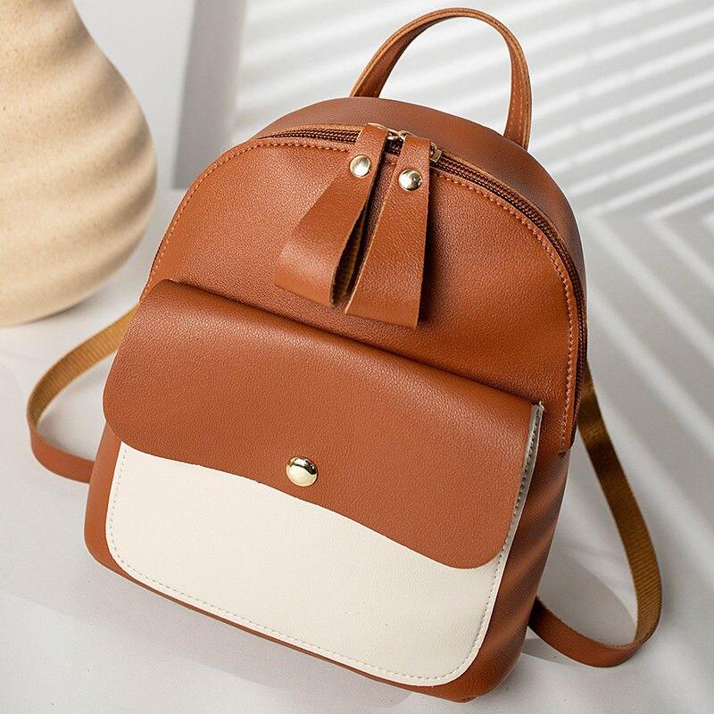 UK Women Shoulder Backpack Rucksack School Travel Bag Fanny Pack Bum Bag Pouch