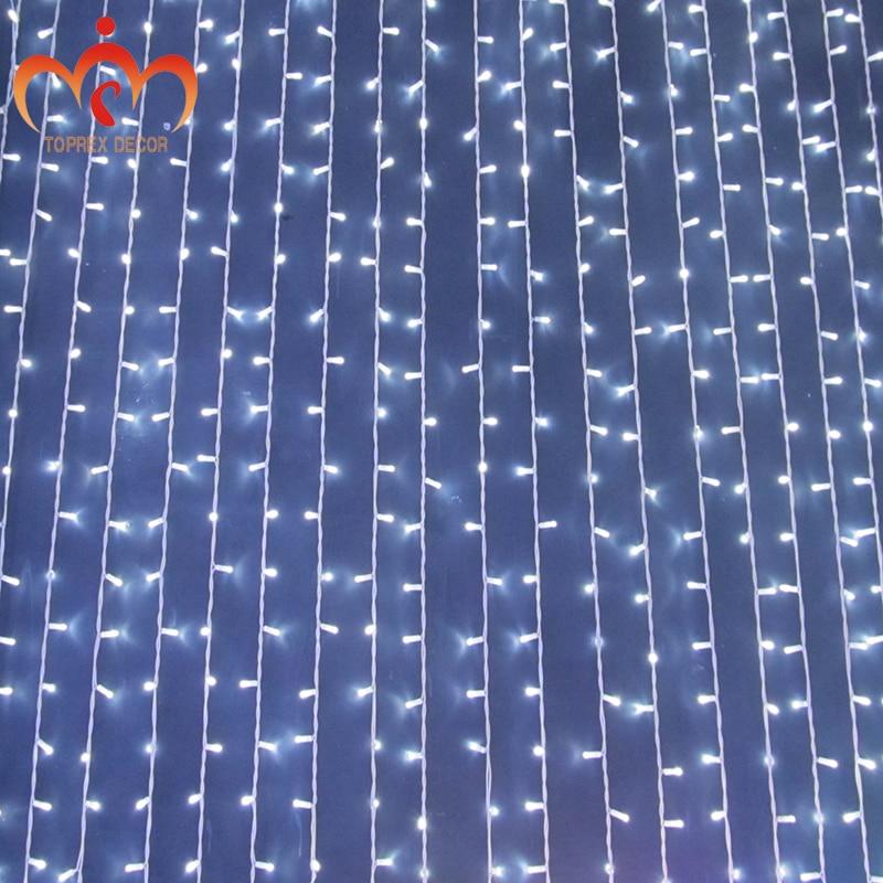 2 * 2 m 400 LEDs conectable LED luz de la cortina watrproof IP46 - Iluminación de vacaciones - foto 2