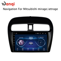 Hot Sale 9 Inch Android 8.1 Car Dvd Gps Player For Mitsubishi mirage attrage built in Radio Video Navigation Bt Wifi