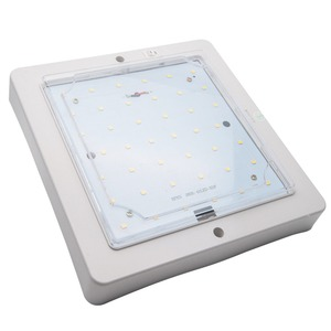 Image 4 - 12V 9W Araba Karavan LED Sıcak Beyaz Işık Kapalı Çatı Tavan Iç Lamba kubbe ışık