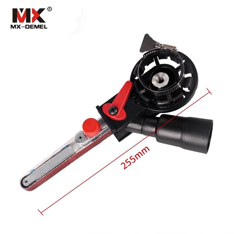 Sander Machine Sanding Belt Adapter Head Convert 3inch Electric Angle Grinder Woodworking Grinding Power Tools Tools