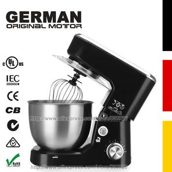 Niemiecki oryginalny silnik elektryczny robot kuchenny KP26MB czarny Bowl-Lift 4 5 Quart chef Stand miksery tanie i dobre opinie GERWELL 700W 220 v Lfgb SASO Rohs CN (pochodzenie) Przycisk wyrzutnik trzepak Nachylenie głowy projekt Stojak tabeli STAINLESS STEEL