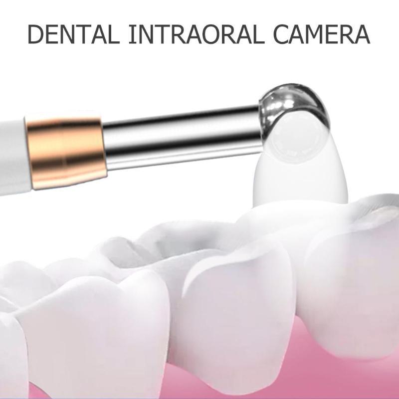 WIFI Intraoral Camera 720P HD WIFI Dental Intraoral Camera Waterproof Endoscope Teeth Mirror LED Light Monitoring Inspection
