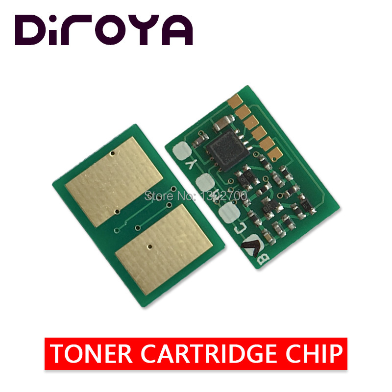 40PCS 38K CMY Toner Cartridge chip For <font><b>OKI</b></font> <font><b>C931</b></font> C941 C911 C942 C 911 931 printer power reset image