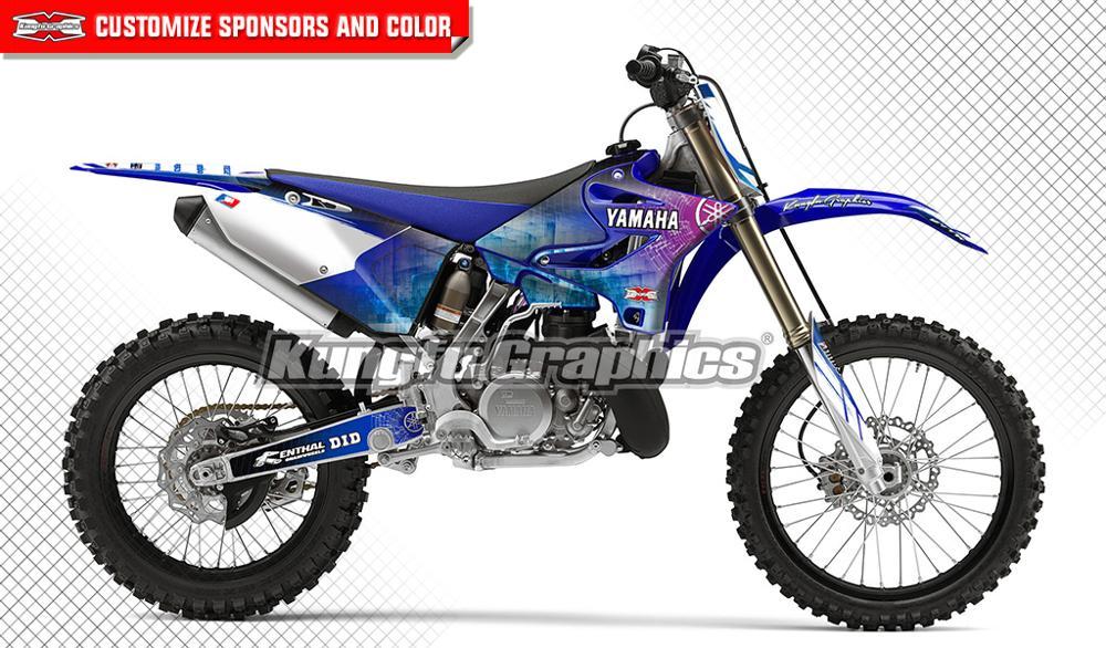 Full Custom Graphic Kit Yamaha YZ 250-1996 2001