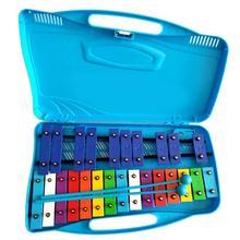 Музыкальный инструмент, игрушка, портативный, 25 тон, стальной ксилофон для детей, Обучающие музыкальные игрушки, подарки