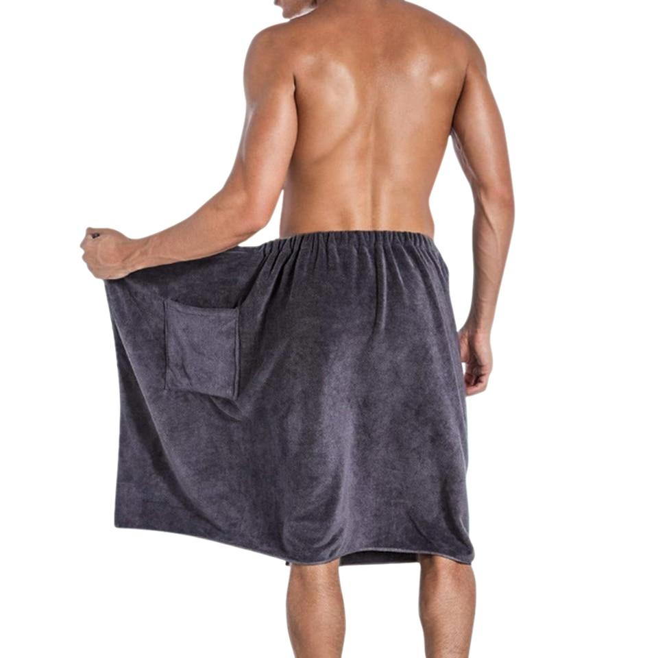 Bath UK Mens Bath Wrap Towel Soft Microfiber Blanket SPA Swimming Beach  Towels Pocket Home, Furniture & DIY breadcrumbs.ie
