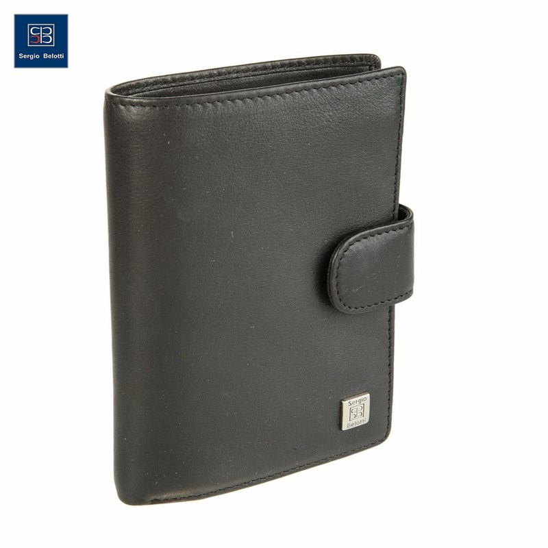 Coin Purse Sergio Belotti 2359 West black new fashion purse wallet female famous brand card holders cellphone pocket gifts for women money bag clutch coin purse ladies