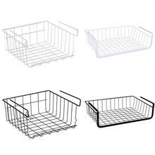 Refrigerator Storage Basket Kitchen Multifunctional Rack Cabinet Shelf Wire Organizer