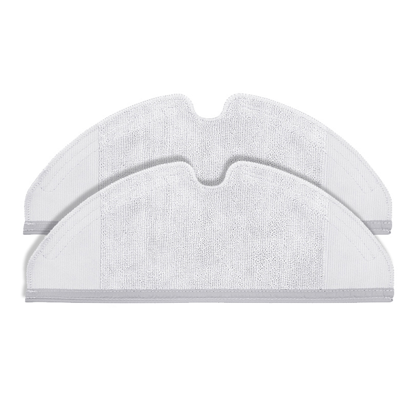 2 PCS Original Roborock S50 S51 Parts Mop Cloths For Xiaomi Vacuum Cleaner Generation 2 Dry Wet Mopping Cleaning