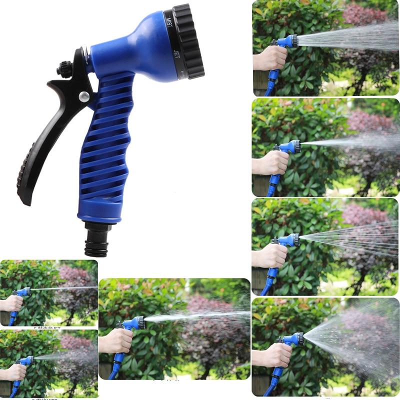 Image 2 - 7 in 1 Patterns Garden Water Sprayers Water Gun Household Watering Hose Spray Gun for Car Washing Cleaning Lawn Garden Watering-in Garden Water Guns from Home & Garden