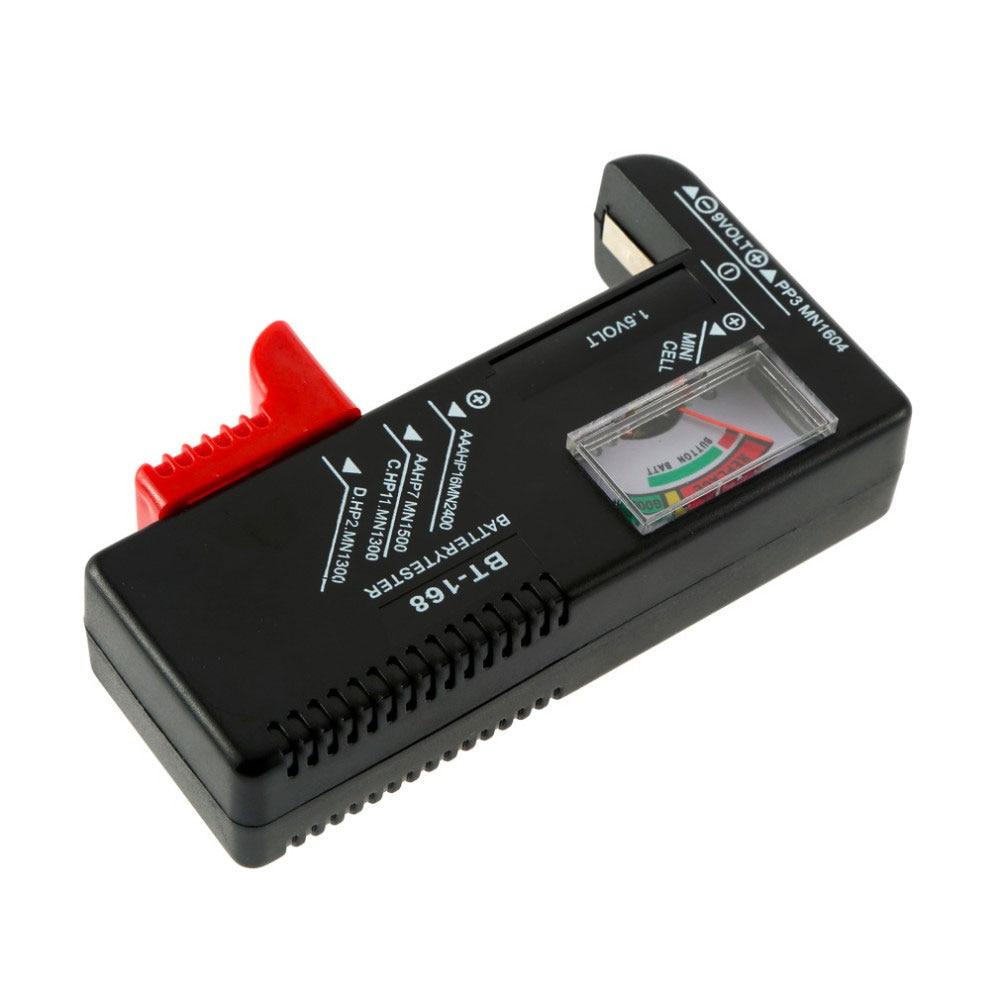 Тестер батареи Портативный электронный BT168