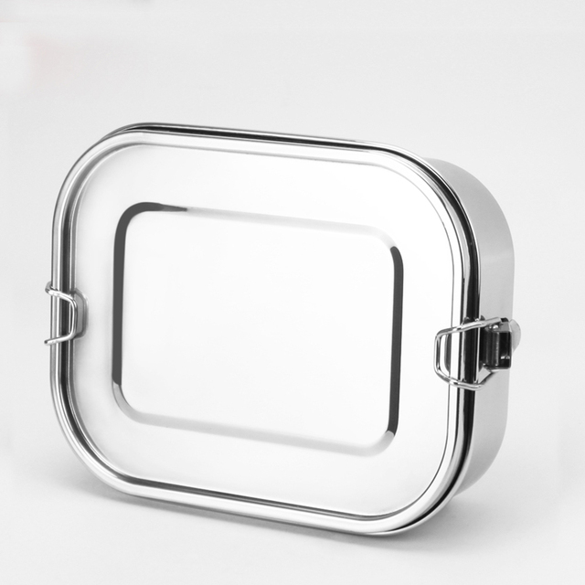 Pure Stainless Steel Lunch Box