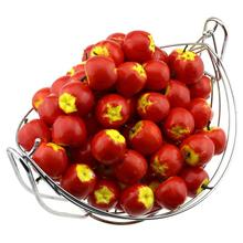 Gresorth 100pcs Artificial Red Apples Fake Fruit Apple Home Party Christmas Tree DIY Decoration Model цена