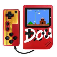 3 HD Double Play Handheld Game Box Vintage Classic Mini Game Console 300 Classic Games Include AVG / RPG / ACT Gift Handle