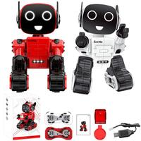 HOT!Intelligent Induction RC Robot Voice Activated Interactive Recording Sing Dance Storytelling Children's smart robot Toys