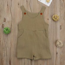 Kids Baby Girl Boy Jumpsuit Romper Outfits 0-3T