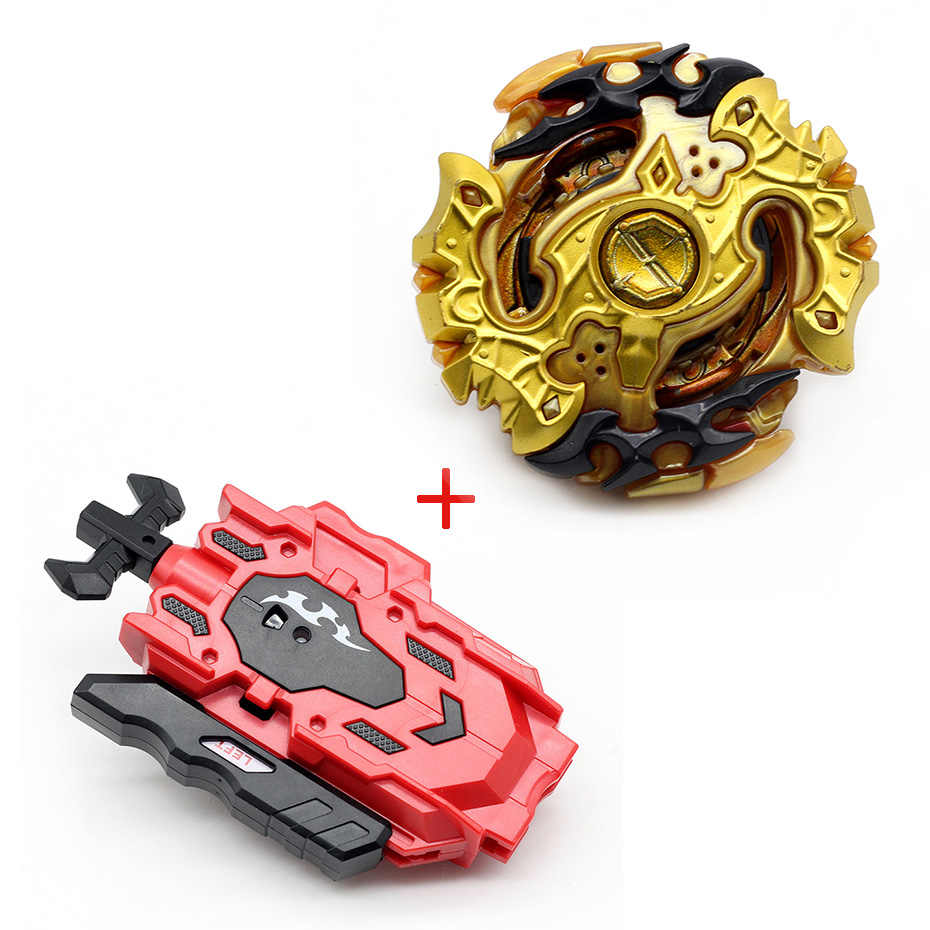 Original Spinning Top Beyblade BURST B-129 B125 With Launcher Bayblade Bey blade Metal Plastic Fusion 4D Gift Toys For Children