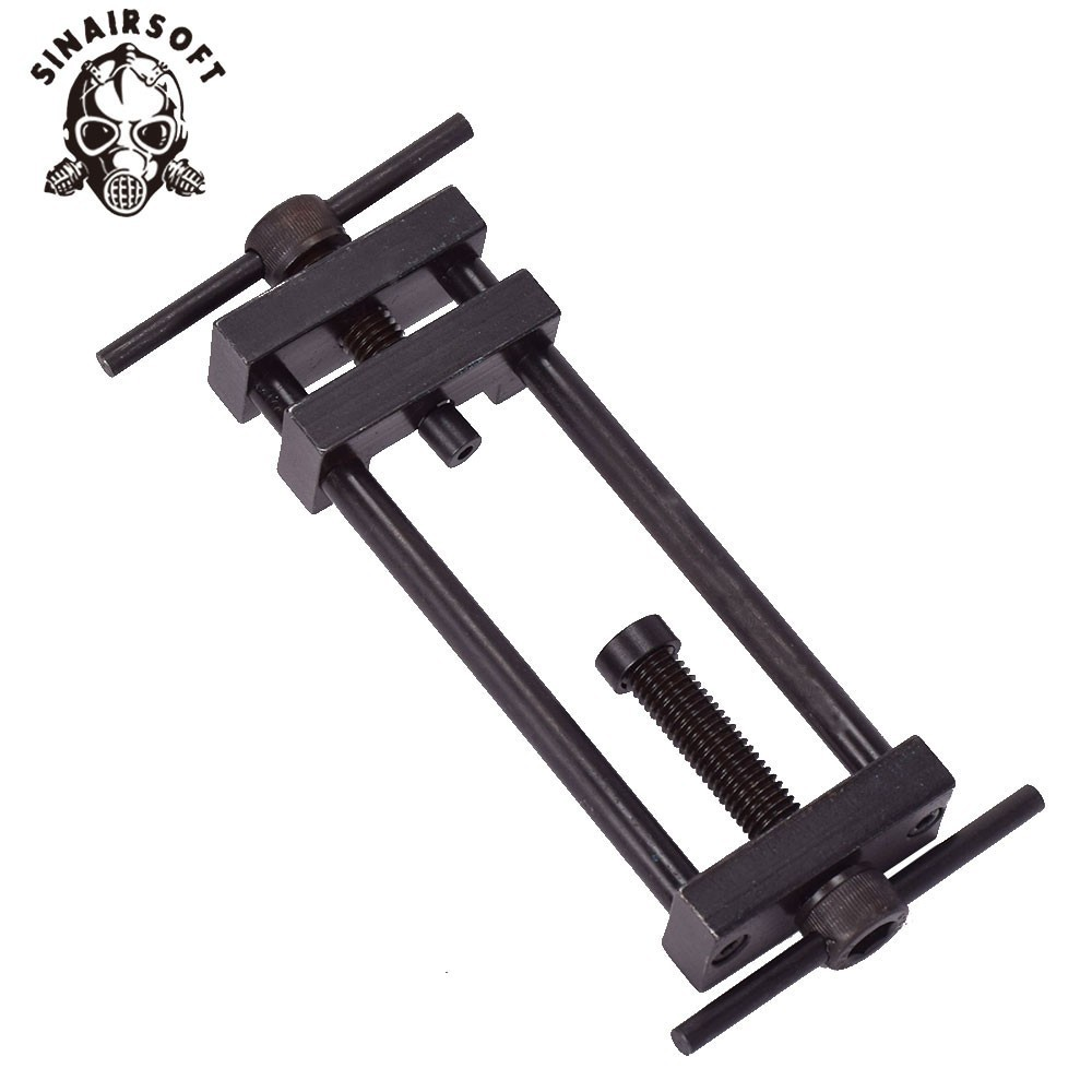 Hot Tactical Metal Black Motor Pinion Puller Mount Tool Usage Install Remove Gear For AEG Airsoft Hunting Accessories