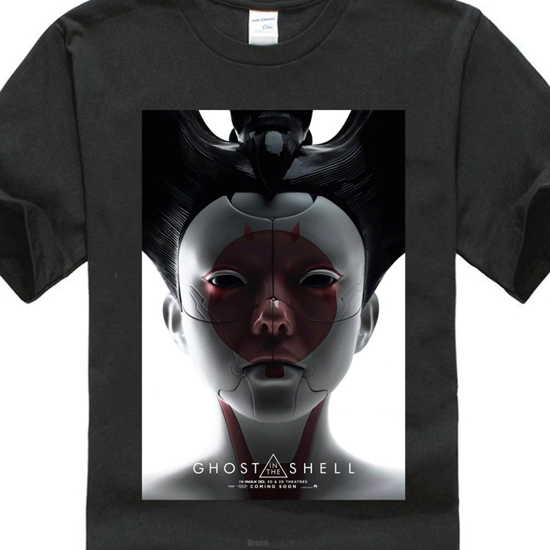 Ghost In The Shell Robo Geisha Sci Fi Cult Movie T Shirt