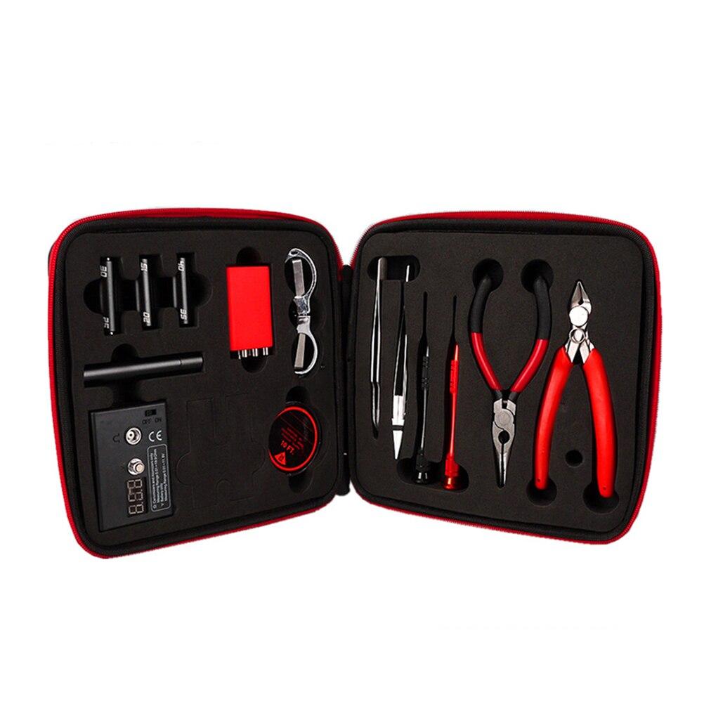 1 outil de réglage Sac Portable avec Batterie Premium Top Qualité des Accessoires Bobinage D'enroulement de Montage Chauffe-Fil Résistance Compteur