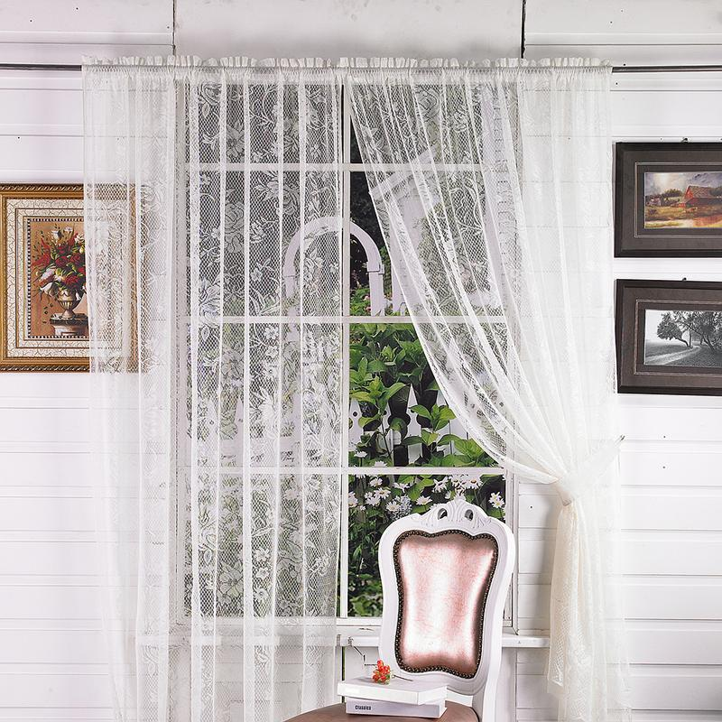 US $8.14 43% OFF|2019 New Arrival Vintage Style Lace Coffee Curtain Kitchen  Curtain Vintage Style Window Scarf ation Home Decoration Hot Sell-in ...