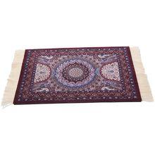 Волшебная персидская мышь подкладка для коврика богемский ковер фиолетовая Корона коврик для мыши Настольный коврик