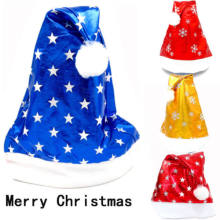 Adult Size Christmas Hats Funny Novelty Father Xmas Santa Party Costume Outfit(China)